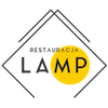 Restauracja Lamp Sticky Logo