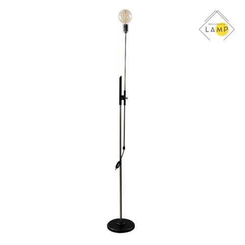 lampa stojąca bez klosza
