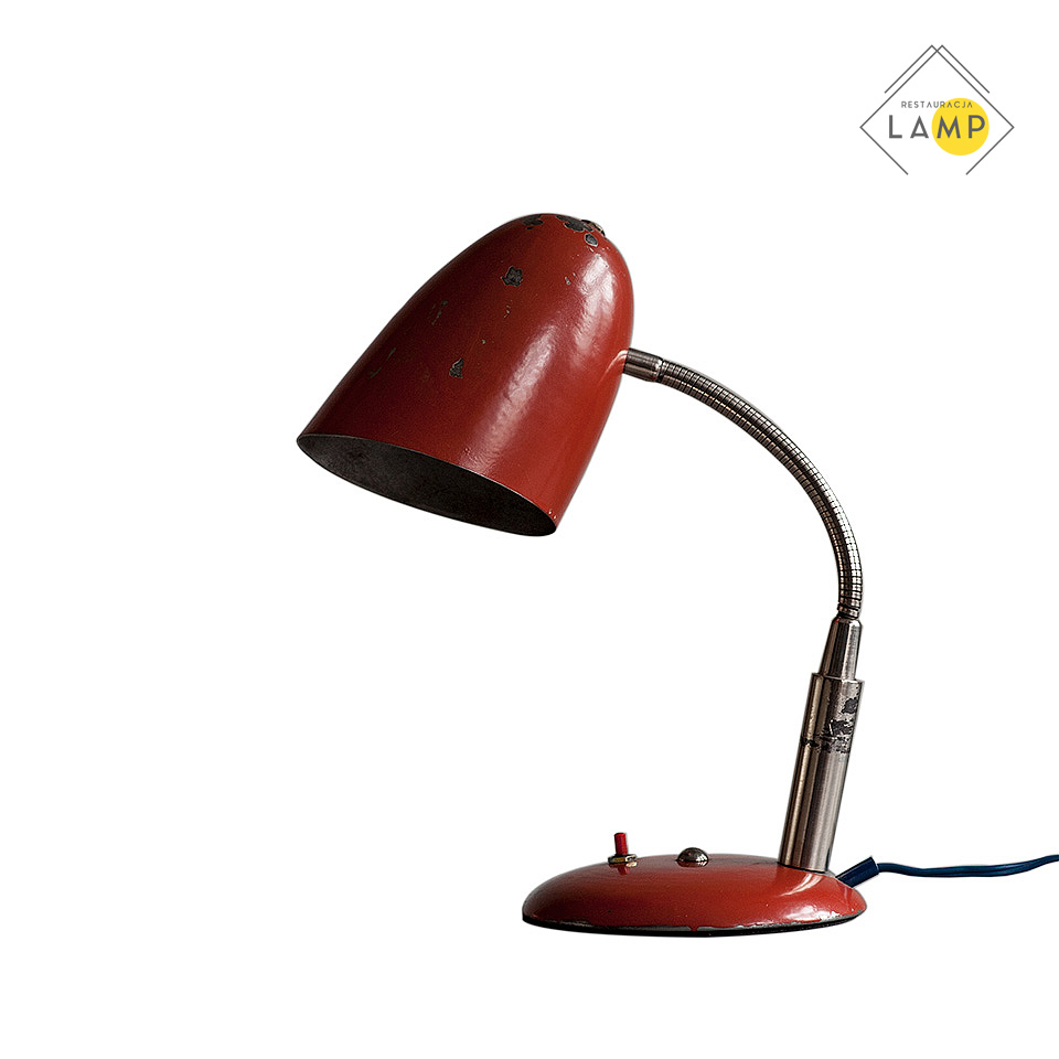 lampka wężowa biurkowa