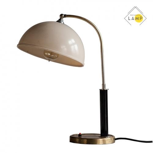 lampa biurkowa retro