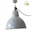 Lampa przemysłowa szara